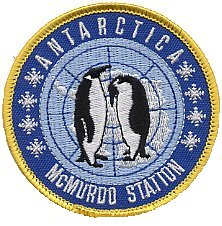 a neat penguin patch from the bottom of the world, sent by a far-away customer!