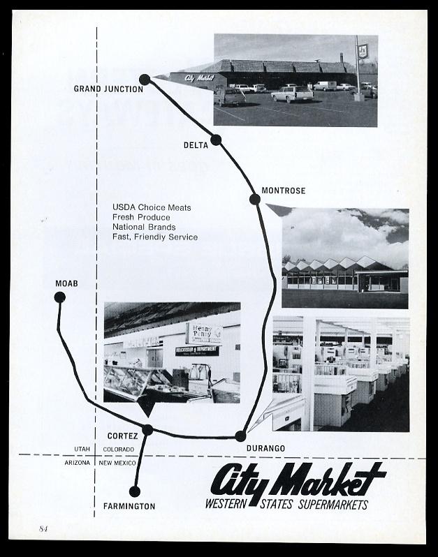 City Market Moab >> 1969 City Market Colorado Comida Supermercado 4 Foto De