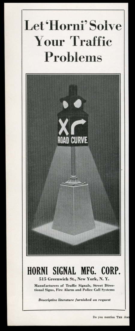 Advertising 1930 American Crucible Traffic Signal Stop Light Photo Vintage Trade Print Ad