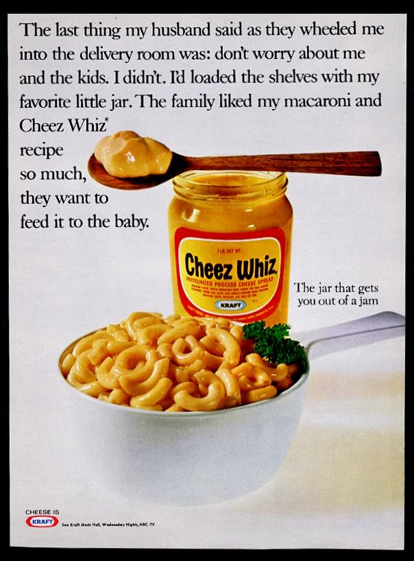 kraft cheez whiz mac and cheese