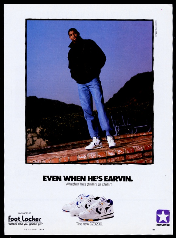 86b92dbfc66f0 1989 Magic Johnson Foto Converse CZ3200 Zapatos de baloncesto ...