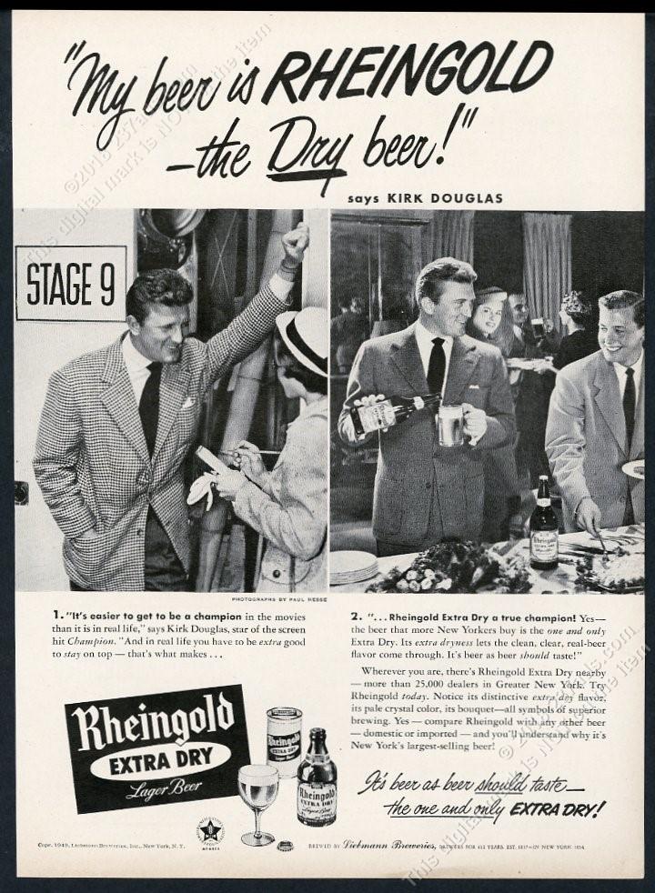 KIRK DOUGLAS Poster Multiple Sizes Vintage Hollywood CHAMPION